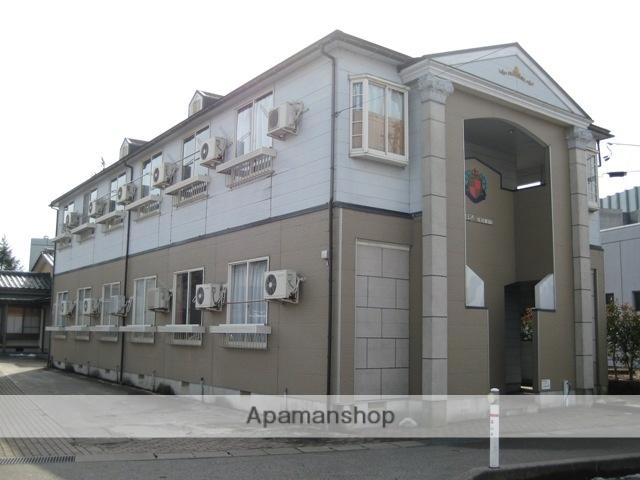富山県富山市、呉羽駅徒歩1分の築24年 2階建の賃貸アパート