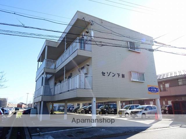 富山県富山市、下奥井駅徒歩14分の築26年 3階建の賃貸アパート