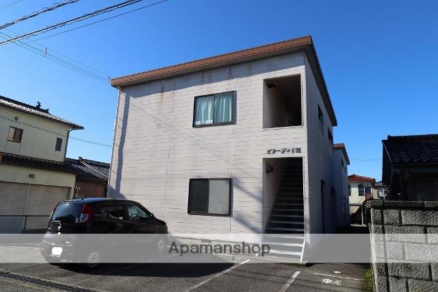 富山県富山市、下奥井駅徒歩14分の築25年 2階建の賃貸アパート