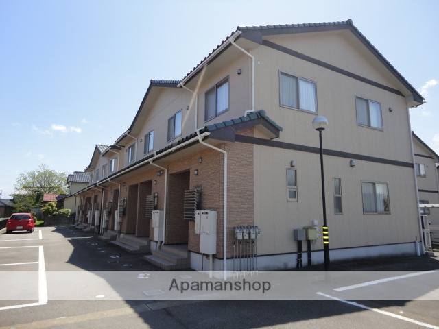 富山県富山市の築11年 2階建の賃貸テラスハウス