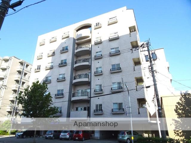 富山県富山市、丸の内駅徒歩7分の築27年 7階建の賃貸マンション