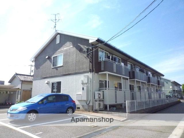 富山県富山市、越中中島駅徒歩16分の築22年 2階建の賃貸アパート