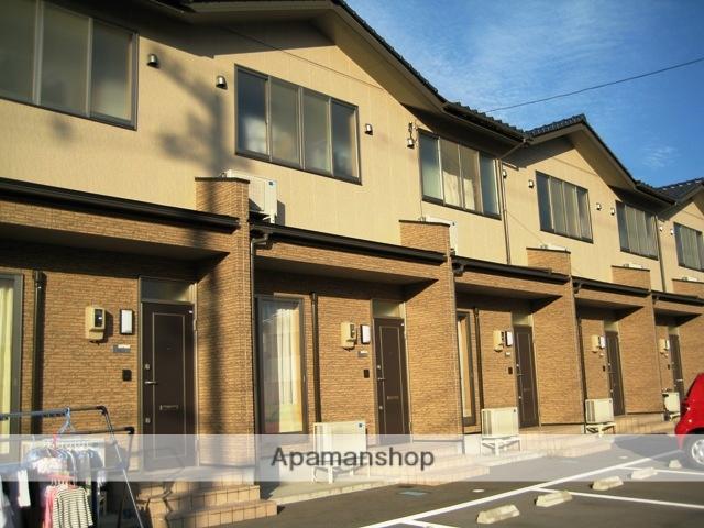 富山県富山市の築12年 2階建の賃貸テラスハウス