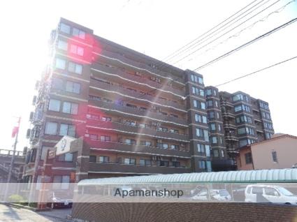 富山県富山市、稲荷町駅徒歩8分の築20年 8階建の賃貸マンション