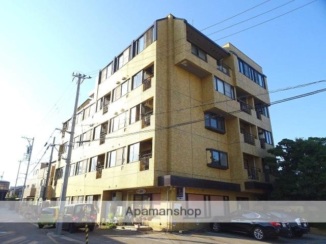 富山県富山市、諏訪川原駅徒歩6分の築33年 5階建の賃貸マンション