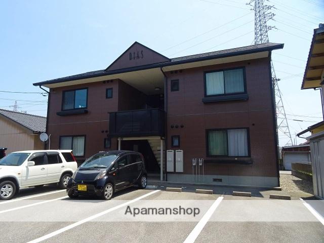 富山県富山市、蓮町駅徒歩6分の築18年 2階建の賃貸アパート