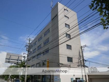 富山県富山市、広貫堂前駅徒歩9分の築50年 5階建の賃貸マンション
