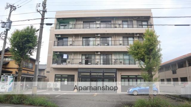 富山県富山市の築27年 4階建の賃貸マンション