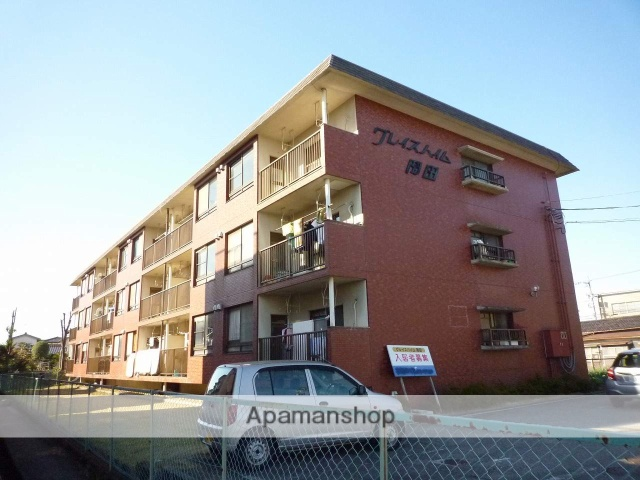 富山県富山市、粟島(大阪屋ショップ前)駅徒歩8分の築30年 3階建の賃貸マンション