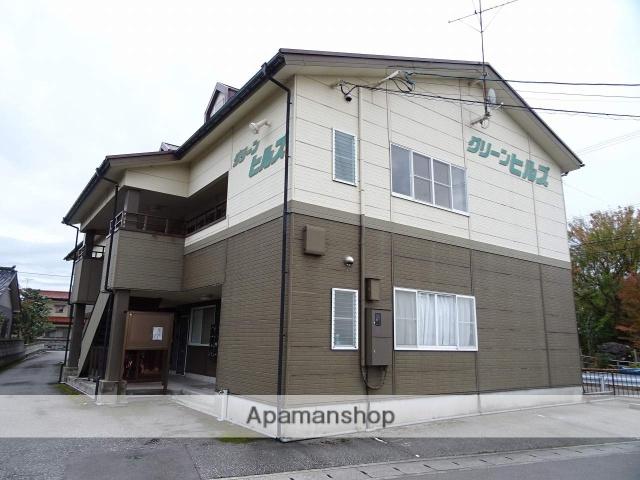 富山県富山市、東富山駅徒歩43分の築20年 2階建の賃貸アパート