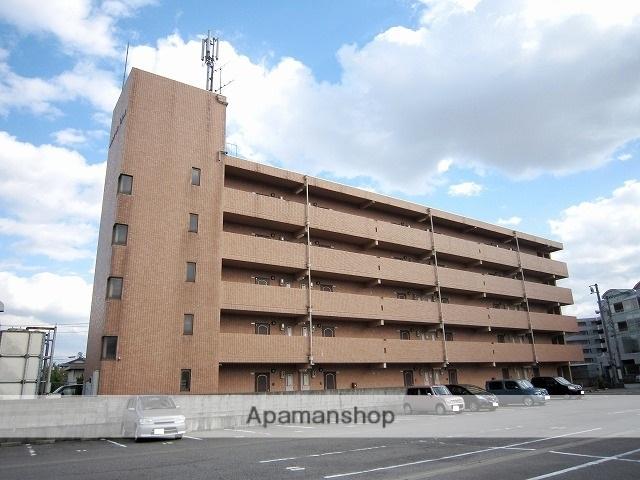 富山県富山市、奥田中学校前駅徒歩16分の築25年 5階建の賃貸マンション