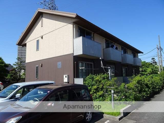 富山県富山市、稲荷町駅徒歩14分の築8年 2階建の賃貸アパート