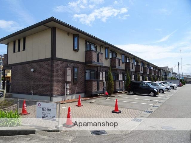 富山県富山市、粟島(大阪屋ショップ前)駅徒歩10分の築8年 2階建の賃貸アパート