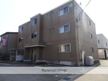 富山県富山市、小泉町駅徒歩4分の築13年 3階建の賃貸マンション