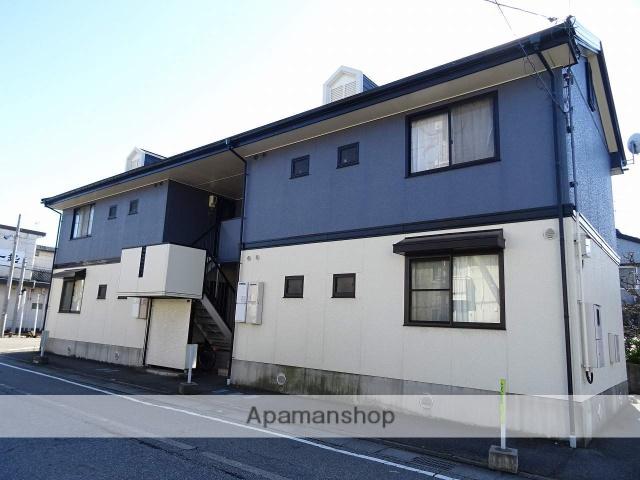 富山県富山市、下奥井駅徒歩4分の築22年 2階建の賃貸アパート