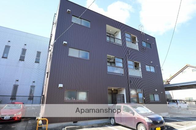 富山県富山市の築32年 3階建の賃貸アパート