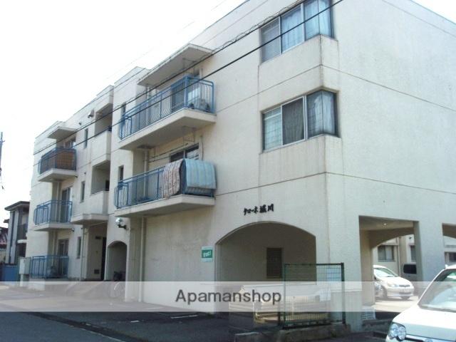富山県富山市、南富山駅徒歩5分の築35年 4階建の賃貸マンション