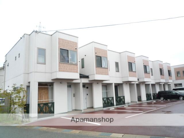 富山県富山市、城川原駅徒歩4分の築7年 2階建の賃貸テラスハウス