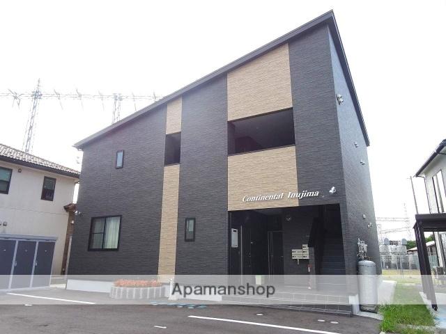 富山県富山市、城川原駅徒歩15分の築1年 2階建の賃貸アパート