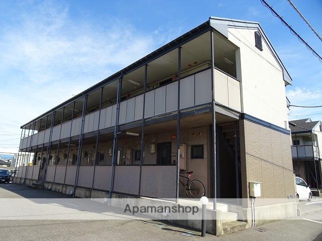 富山県富山市、富山駅徒歩12分の築20年 2階建の賃貸アパート