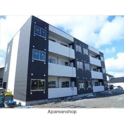 富山県富山市、稲荷町駅徒歩9分の築2年 3階建の賃貸アパート