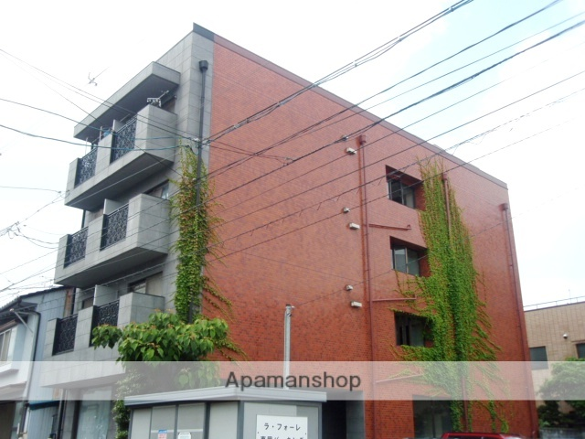 富山県富山市、西町駅徒歩3分の築34年 4階建の賃貸マンション