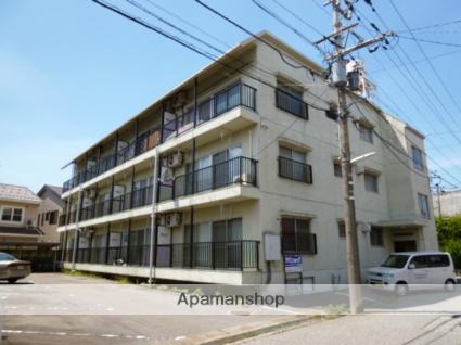 富山県富山市、小泉町駅徒歩8分の築40年 3階建の賃貸マンション