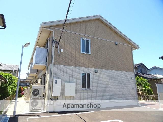 富山県富山市、蓮町駅徒歩10分の築1年 2階建の賃貸アパート