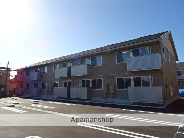 富山県富山市、上堀駅徒歩8分の築1年 2階建の賃貸アパート