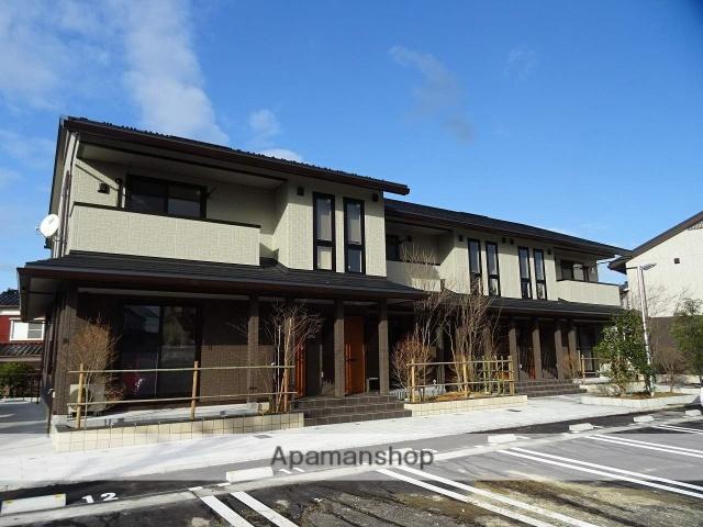 富山県富山市、城川原駅徒歩14分の新築 2階建の賃貸アパート