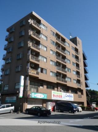 富山県富山市、稲荷町駅徒歩3分の築21年 7階建の賃貸マンション
