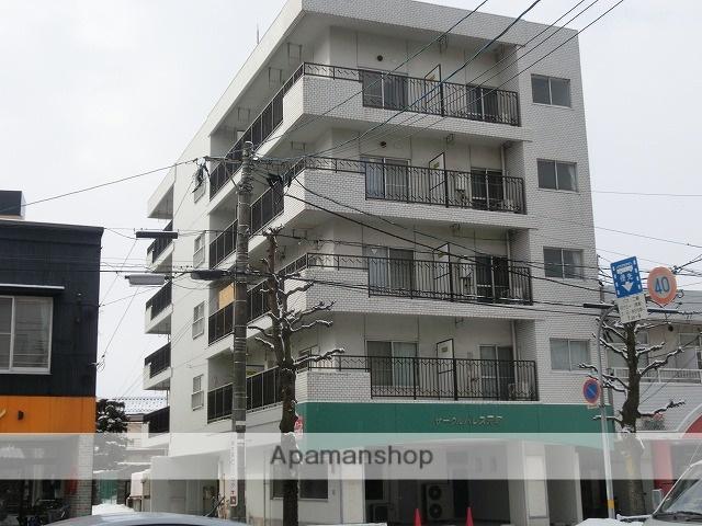 富山県富山市、稲荷町駅徒歩13分の築33年 5階建の賃貸マンション
