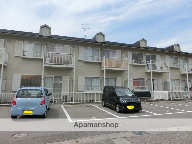 富山県富山市、呉羽駅徒歩20分の築26年 2階建の賃貸アパート