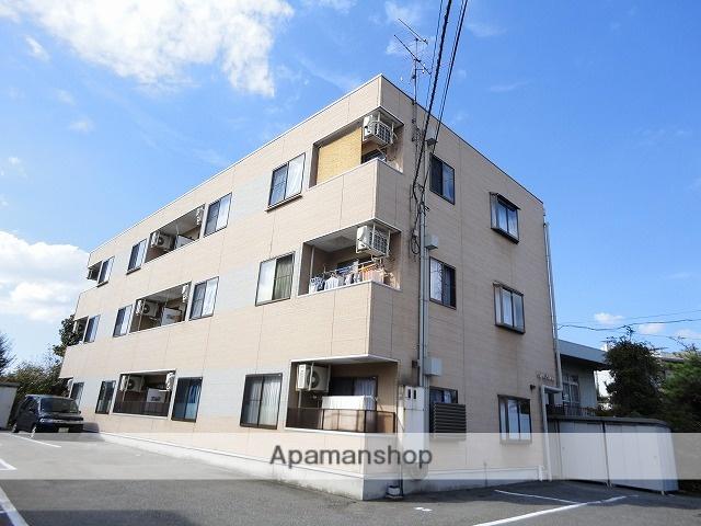 富山県富山市の築20年 3階建の賃貸アパート