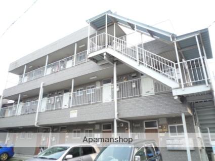 富山県富山市、富山駅徒歩9分の築31年 3階建の賃貸マンション
