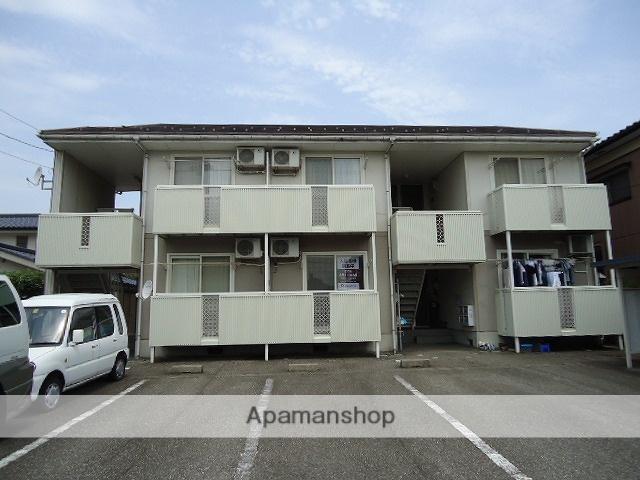 富山県富山市、南富山駅徒歩24分の築27年 2階建の賃貸アパート