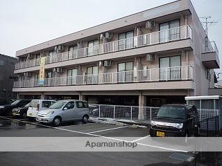 富山県富山市、富山駅徒歩10分の築20年 3階建の賃貸マンション