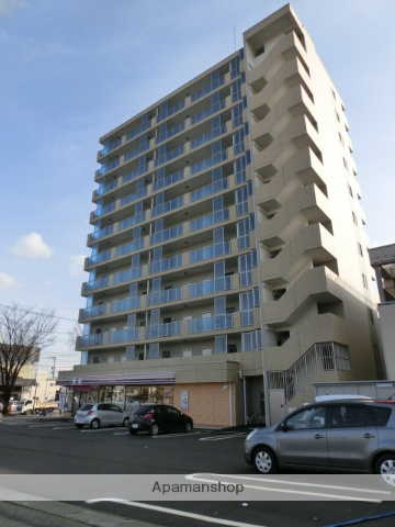 富山県富山市、諏訪川原駅徒歩4分の築3年 11階建の賃貸マンション
