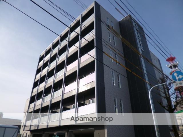 富山県富山市、電気ビル前駅徒歩3分の築4年 6階建の賃貸マンション
