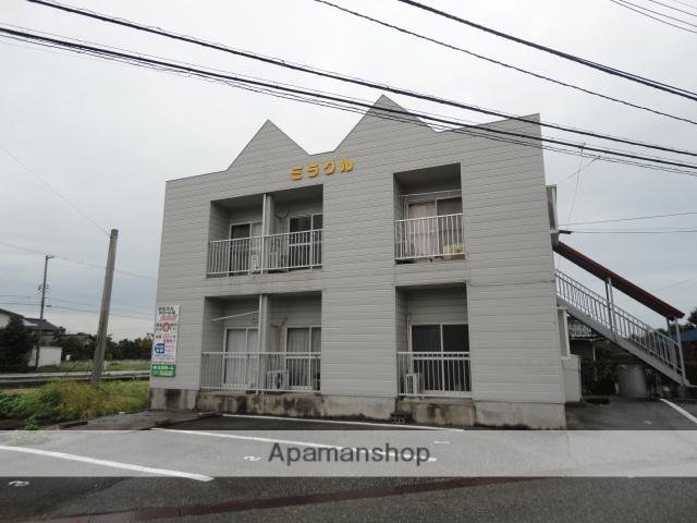 富山県富山市、西富山駅徒歩57分の築22年 2階建の賃貸アパート