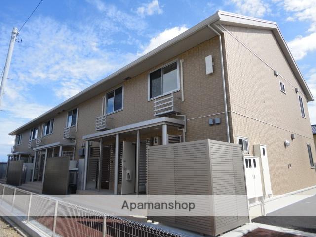 富山県富山市、速星駅徒歩17分の築2年 2階建の賃貸アパート