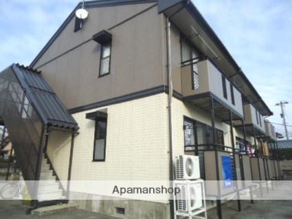 富山県富山市、南富山駅徒歩19分の築20年 2階建の賃貸アパート