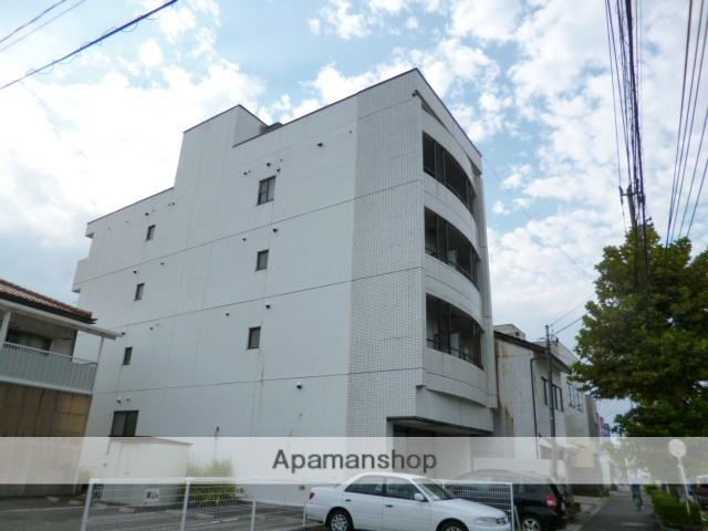 富山県富山市、大町駅徒歩3分の築27年 4階建の賃貸マンション