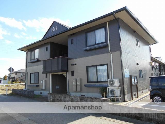 富山県砺波市、砺波駅徒歩20分の築18年 2階建の賃貸アパート