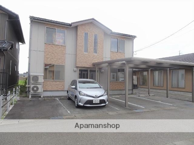 富山県南砺市、福野駅徒歩15分の築10年 2階建の賃貸アパート
