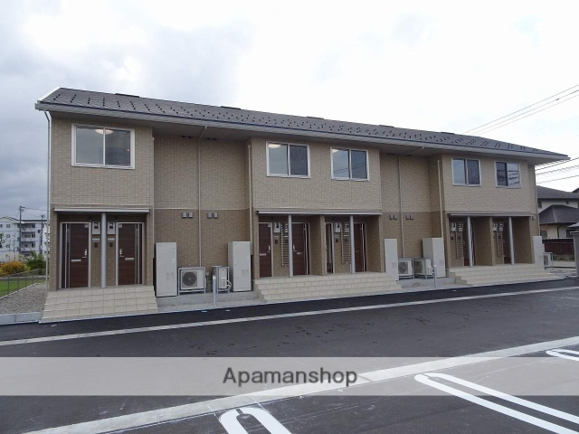 富山県南砺市、福野駅徒歩12分の新築 2階建の賃貸アパート