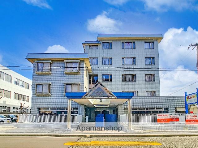 石川県金沢市、金沢駅北鉄バスバス20分泉ヶ丘下車後徒歩4分の築28年 5階建の賃貸マンション