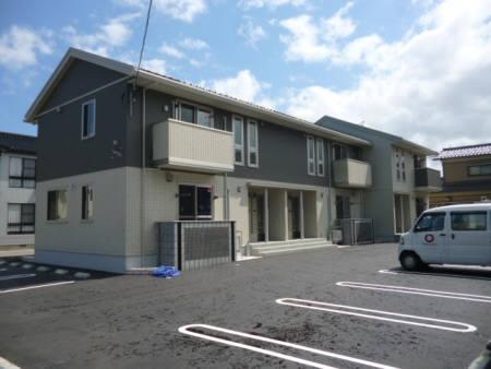 石川県金沢市の築3年 2階建の賃貸アパート