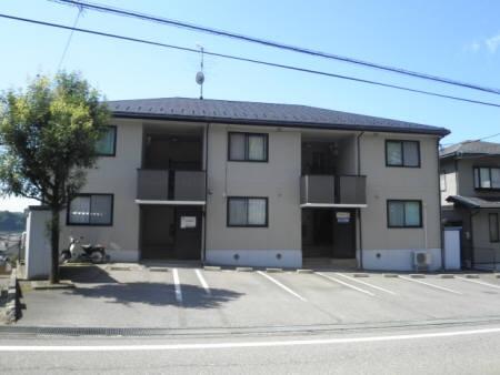 石川県金沢市、金沢駅北鉄バスバス30分上若松下車後徒歩1分の築17年 2階建の賃貸アパート