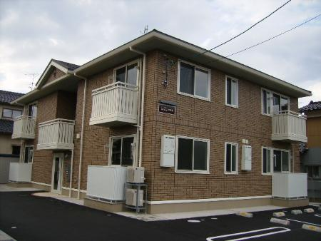 石川県金沢市、押野駅徒歩15分の築8年 2階建の賃貸アパート